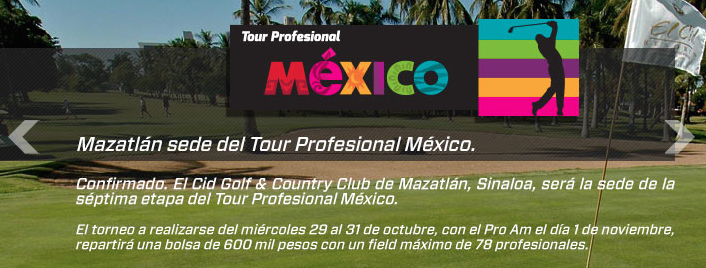 Mazatlán, sede del Tour México